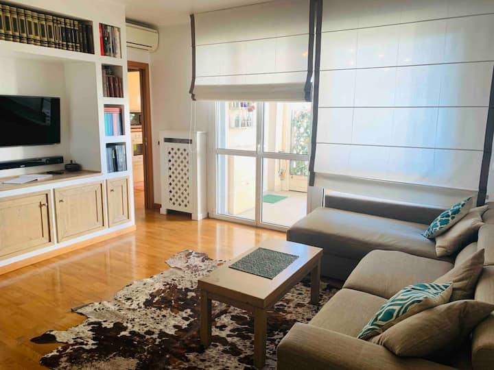 Appartamento via Savona Milano terrazzo sul verde