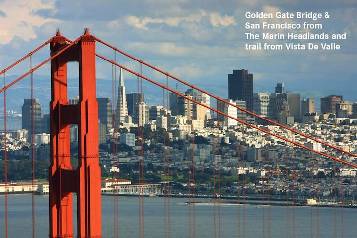 Hike To GG Bridge, Beach, & Nature - Mill Valley - Appartement