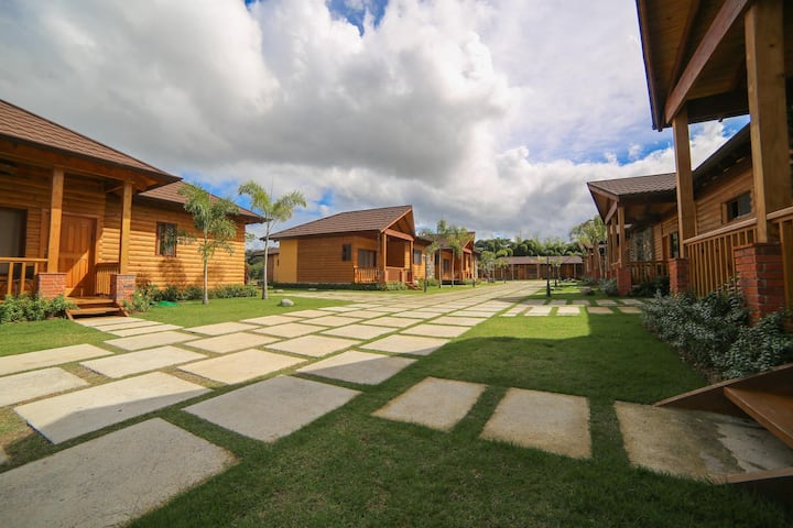 Villa 〽️Cayena⛰@Carmen Ecolodge Jarabacoa ➕Pool➕BBQ