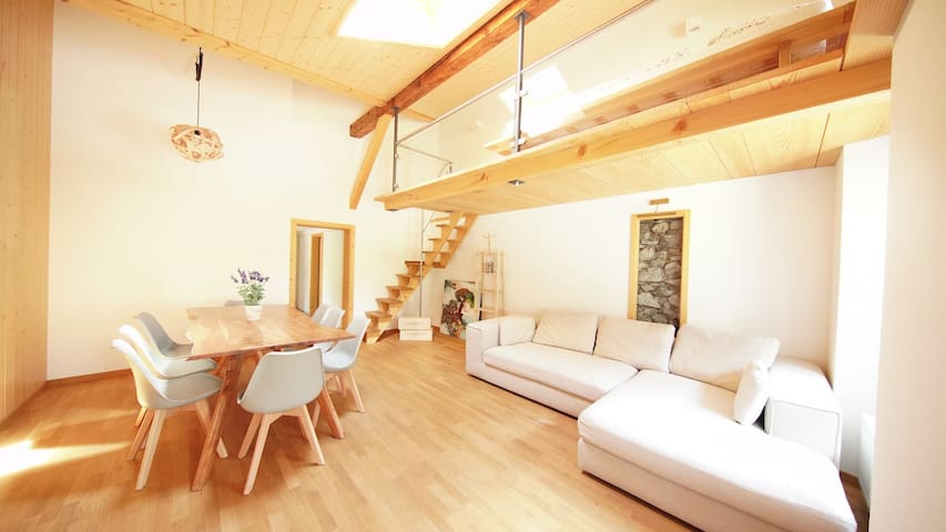 *** Modern Apartment in charming Chalet ***