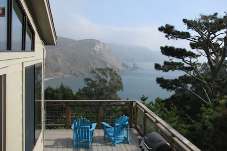 Amazing ocean views, private haven  - Muir Beach - Talo
