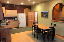 Spacious Kitchen and dinning area