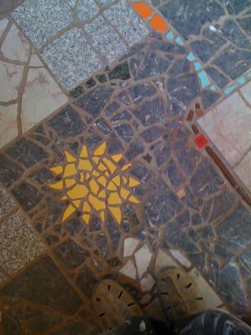 Kitchen floor ©2o16 perry hoffman