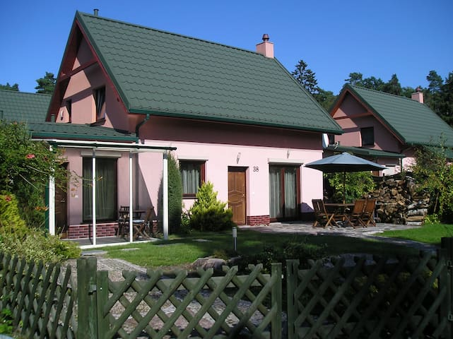 Holiday House at the Baltic Sea - Łukęcin - Huis
