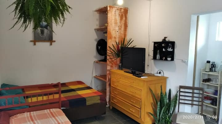 Loft 5 confortável para casal e + uma pessoa