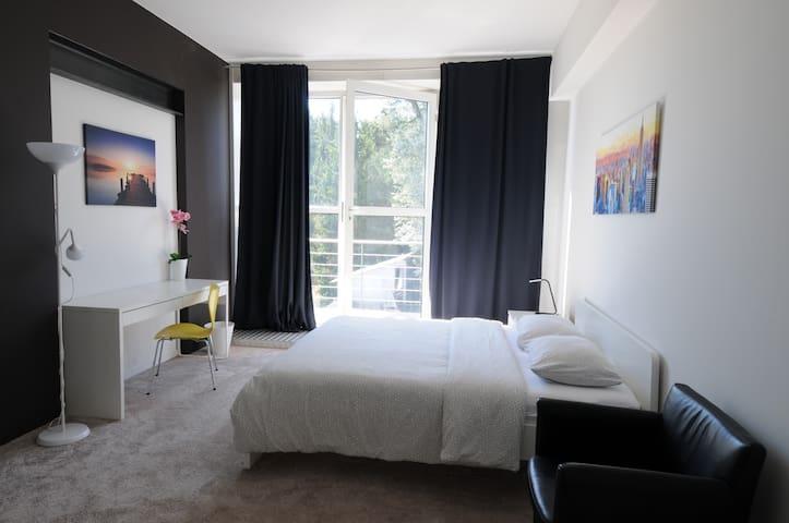 Sunny Room w/private Balcony close to Esch/Belval