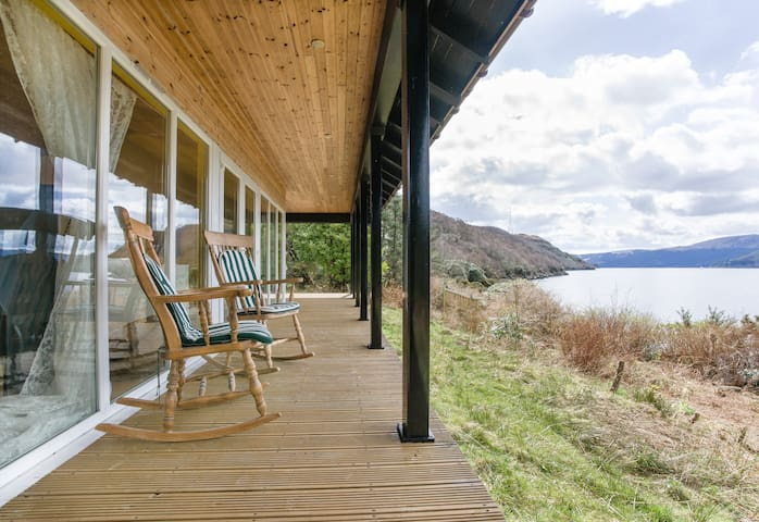 Seafront Cottage On Private Beach - Garelochhead - Casa