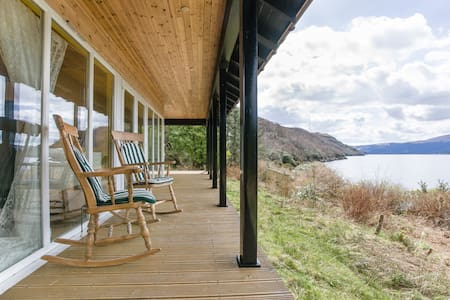 Seafront Cottage On Private Beach - Garelochhead