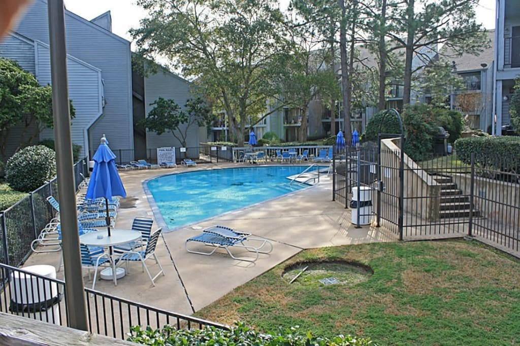 Swim at the onsite Harbor Village pool!!