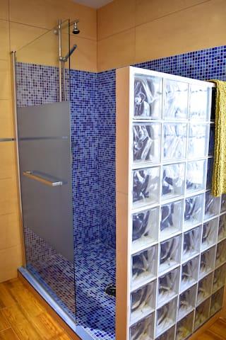 ducha baño superior