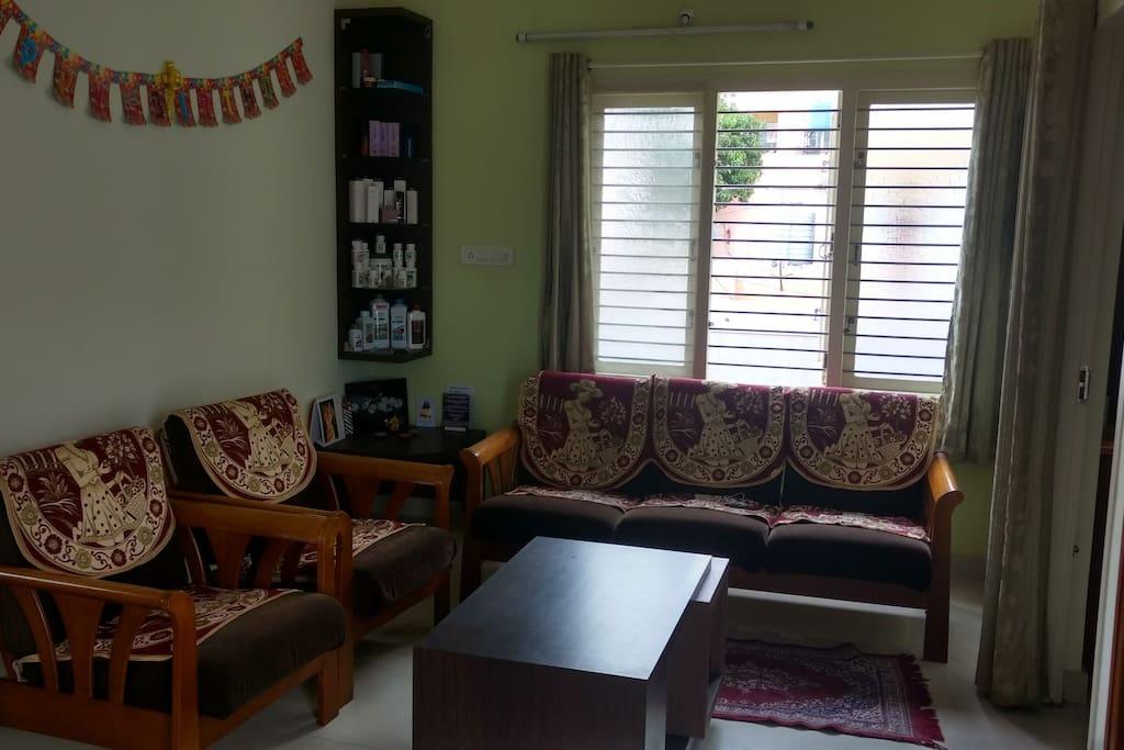 Common area Living room.