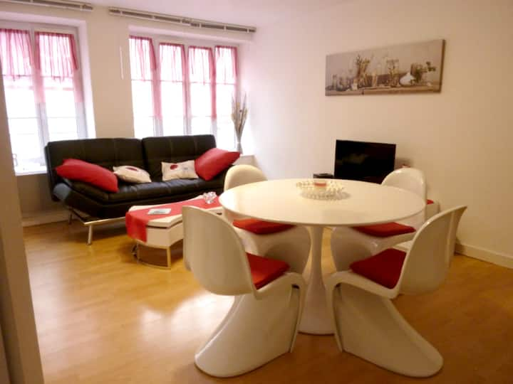 Apartment with one bedroom in Erquy, with WiFi - 200 m from the beach