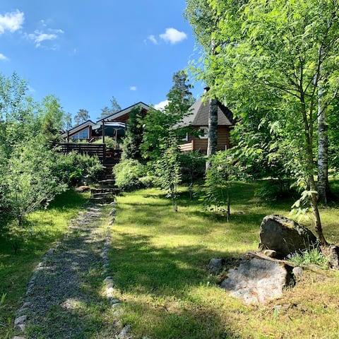 Fabulous Villa with beautiful Lake Konnivesi views
