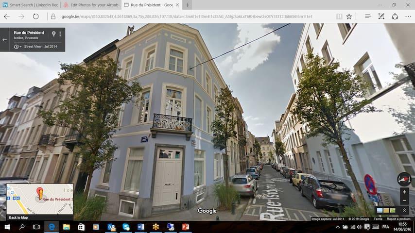 Genuine architect houses in Ixelles - Ixelles - Rumah