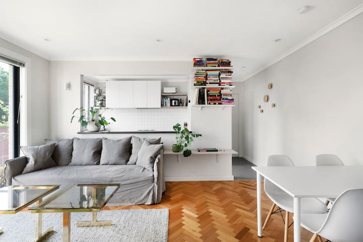 Light and Plant Filled Fitzroy Apartment