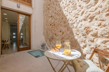CAN SALROIG - Chalet with terrace in MURO.