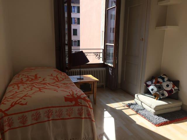 Quiet nice room close to everything - Genewa - Apartament