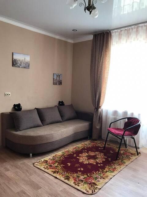 Уютная студия для удобного отдыха