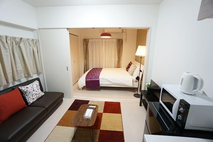 ★9 minutes Dotonbori! New luxury apartment#RVDQ8F