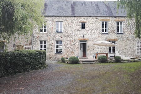 200 year old farmhouse in Normandy - Montmartin-en-Graignes - 一軒家