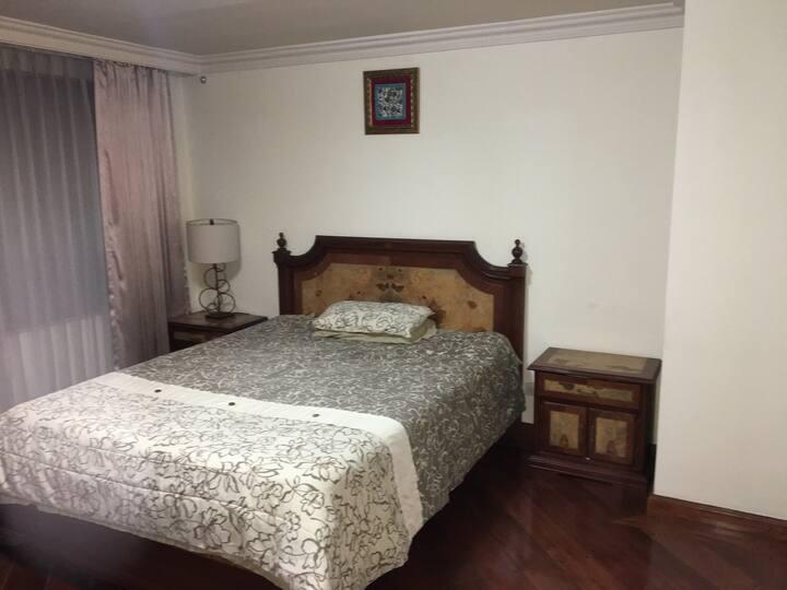 Penthouse con cuarto y baño privado
