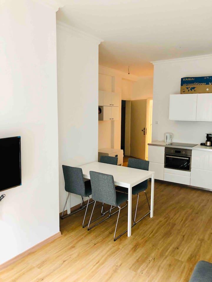 Stylisch eingerichtete Wohnung mitten in München