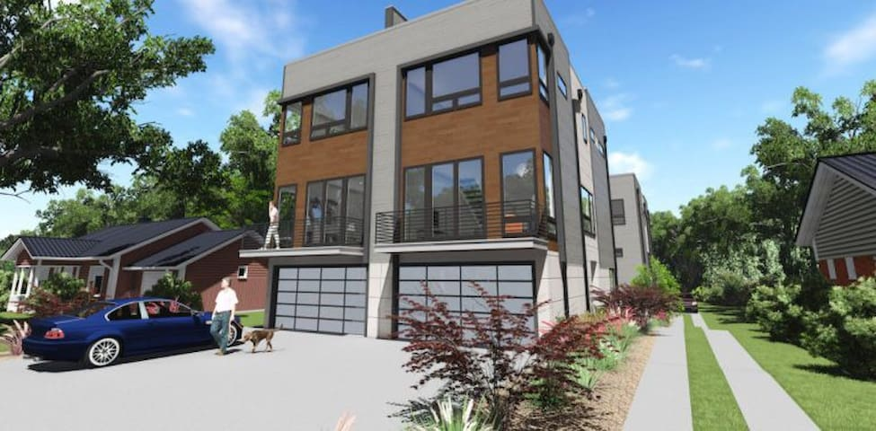 Modern Townhouse in Heart of Uptown - Charlotte