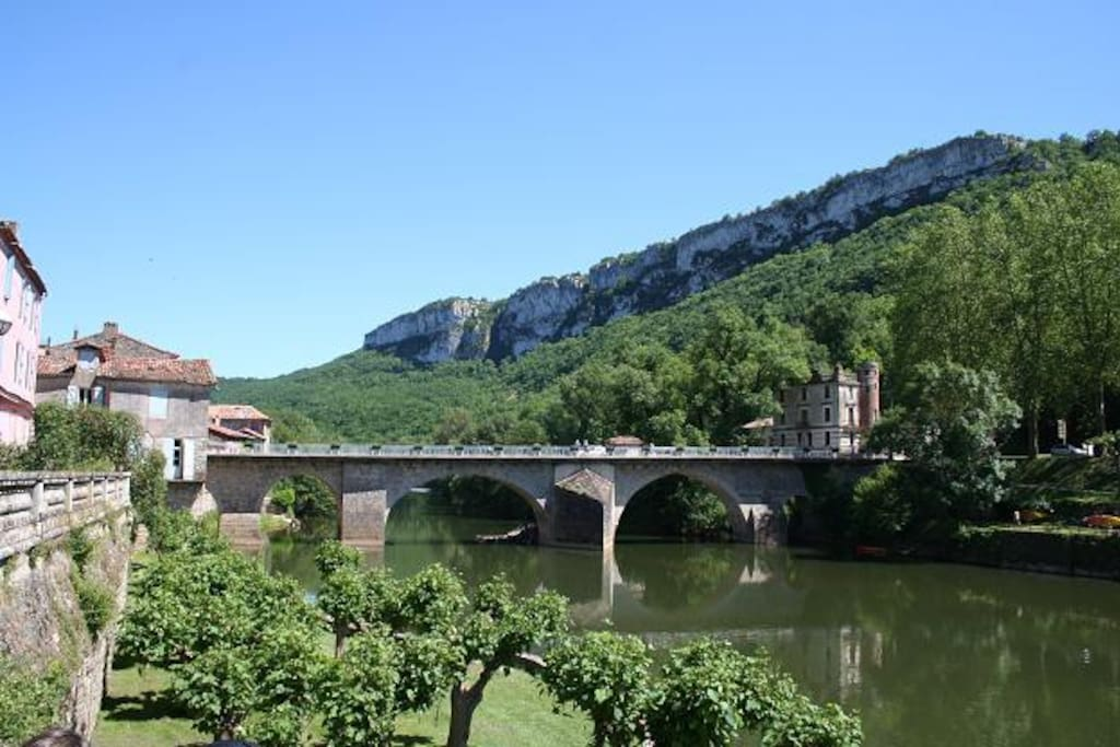 St. Antonin Noble Val bridge