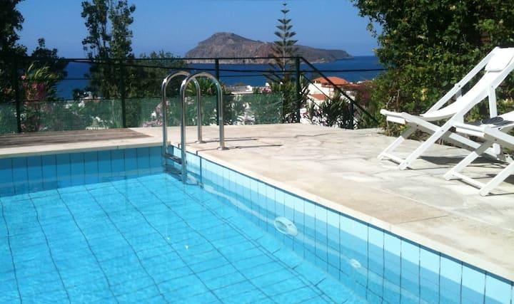 Pelagos Holidays Apts 2 with sea view