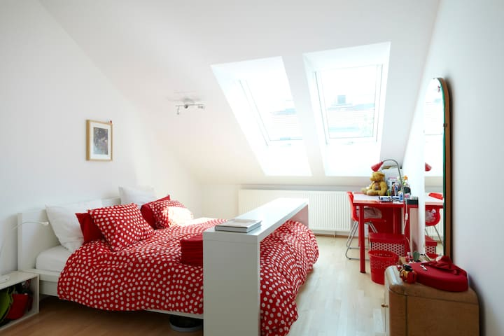 Central private room and bathroom - Viena - Apartamento