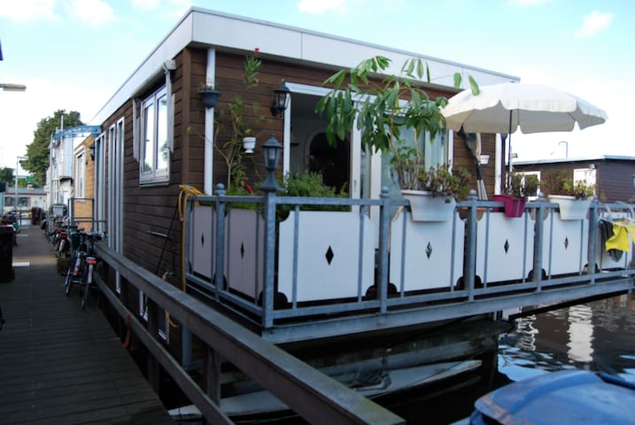 Always wanted to spend a night on a houseboat?! - Amsterdam - Boat