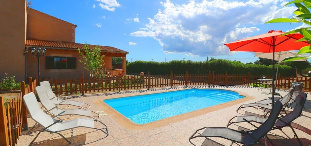 Ca'n Olivaret,  private pool, barbacue and wifi