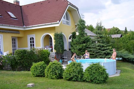 House on top of Csopak, Balaton - Csopak
