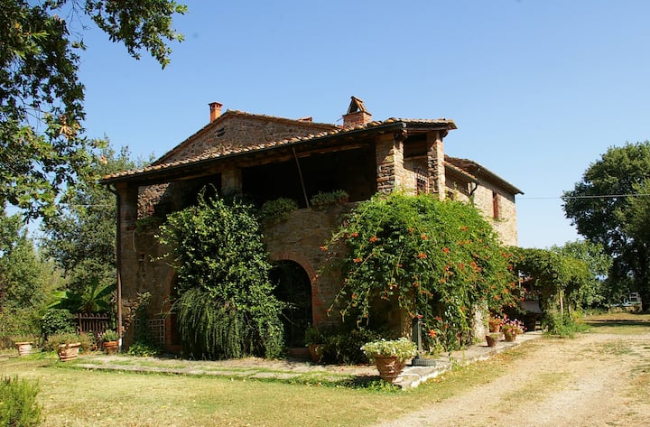 Privacy in the heart of Tuscany