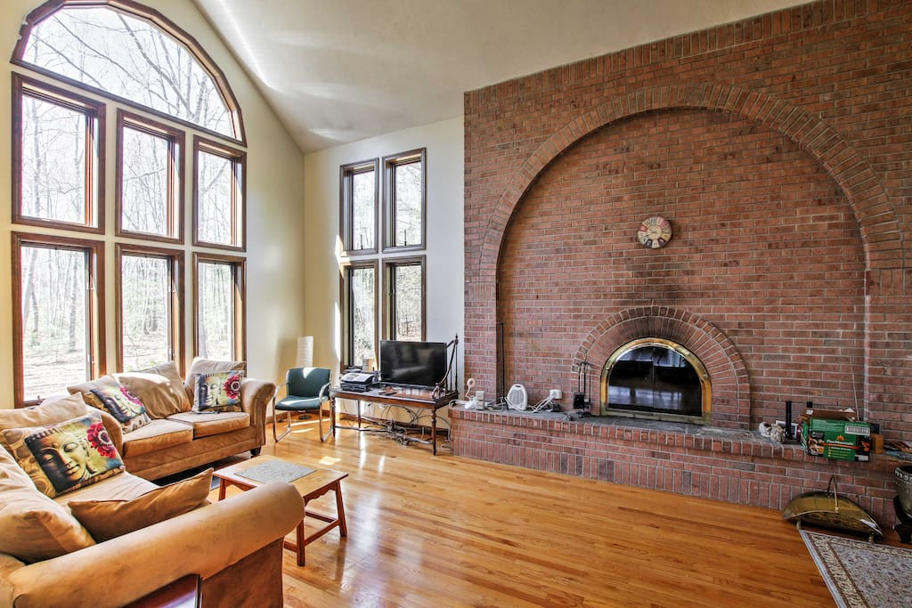 Step inside to find plenty of light streaming through the numerous windows.