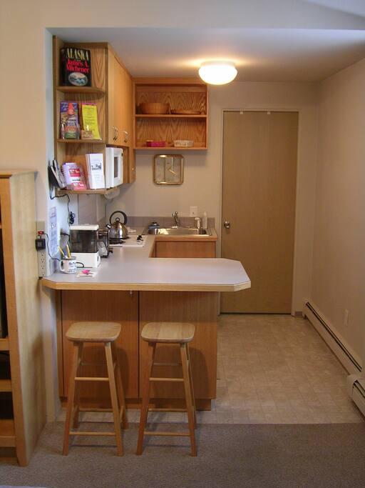 Kitchenette Garden Suite