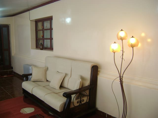 Small apartment in a colonial city