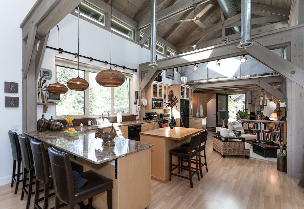 Covered bridge featured on hgtv houses for rent in for New york style kitchen