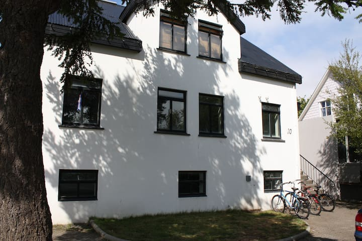 Cozy, central flat in Akureyri