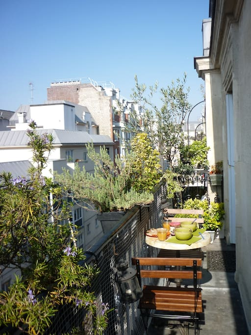 Un balcon paris appartements louer paris le de for Appartement balcon paris