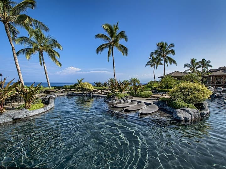 Waikoloa Resort Villa with Private Ocean Club