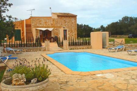 Sa Tortuga,beautiful house,pool... - Campos - Villa