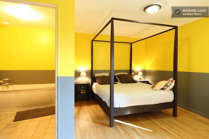 The Yellow Room near Azay's Castle - Azay-le-Rideau - Pousada
