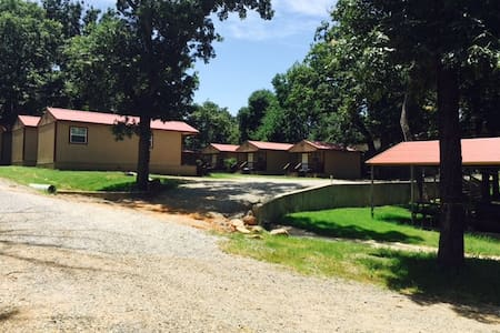 Angler's Hideaway Cabins on Lake Texoma Cabin 5 - Mead - Cabaña