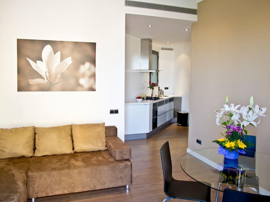 Piso con vistas a sagrada familia apartamentos en alquiler en barcelona catalu a espa a - Piso alquiler sagrada familia ...