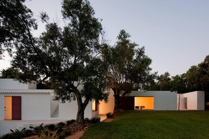 architect designed dream villa in nature reserve