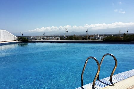 Studio Apartment - Sea/Pool view. - Tétouan - Lejlighed