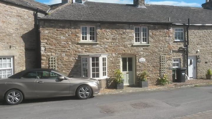 Charming stone Yorkshire Dales village cottage