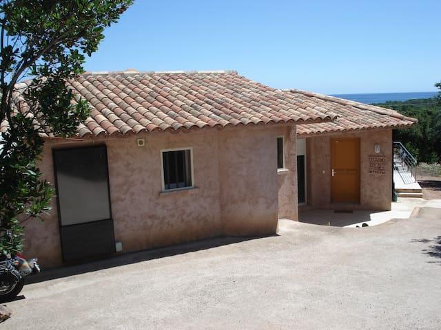 Location maison Corse 8 pe. vue mer - Sainte Lucie de Porto Vecchio - Huis