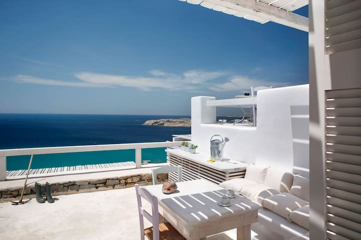 Executive Studio 2-Sea View & Pool - Míkonos - Pis